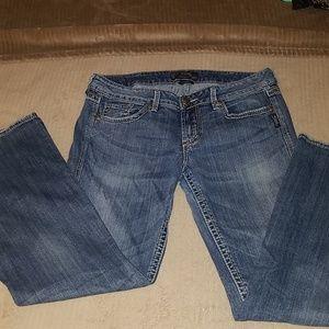 Silver Eden bootcut jeans